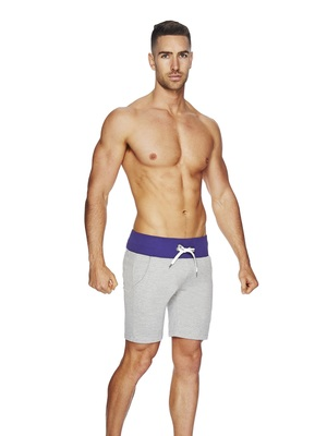 BCNU Excelsior Casual Short Grey