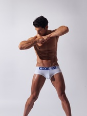 CODE 22 Basic Brief White