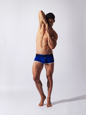 CODE 22 Double Seam Boxer Blue