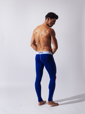 CODE 22 Double Seam Long John Blue