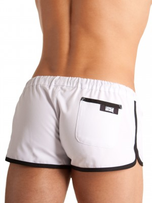 Barcode Gym Short Barcode White/Black