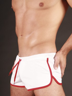 Barcode Gym Short Barcode White/Red