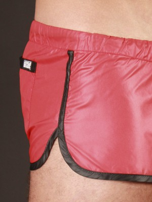 Barcode Shinie Short Red/Black