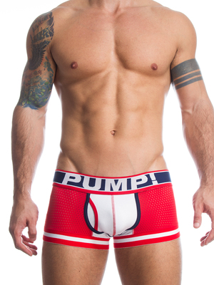 Pump! Touchdown Boxer Fever Red/White