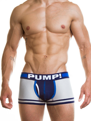 Pump! Iron Clad Boxer Grey
