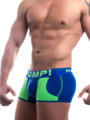 Pump! Shock Wave Jogger Blue-Neon Green