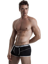 PUMP! Free-Fit Boxer Black
