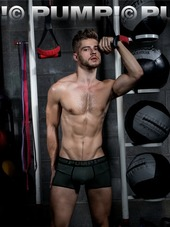 PUMP! Free-Fit Boxer Military Gr