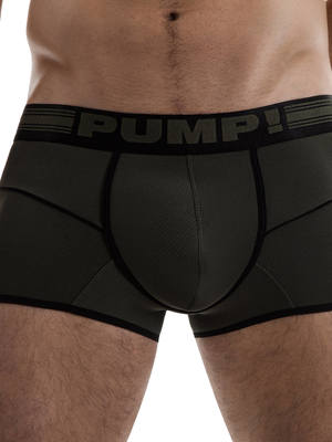 PUMP! Free-Fit Boxer Military Green