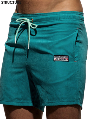 PRIVATE STRUCTURE Swim Short Army Green