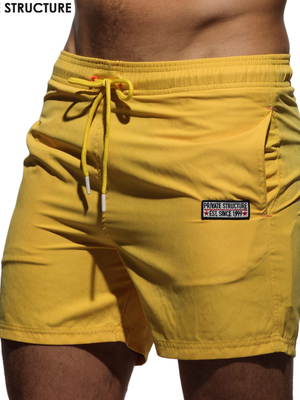 PRIVATE STRUCTURE Swim Short Yellow