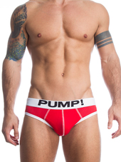 Pump! Micromesh Red Brief
