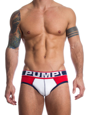 Pump! Touchdown Brief Fever Red/