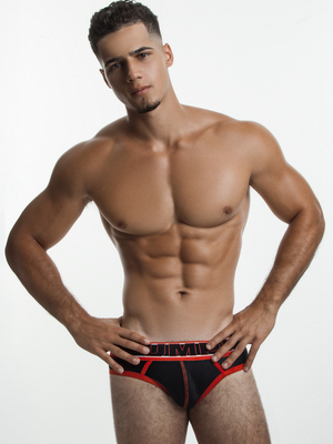 PUMP! Uppercut Brief Black