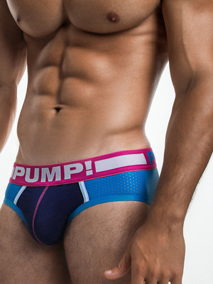 PUMP! Suger Rush Brief Blue