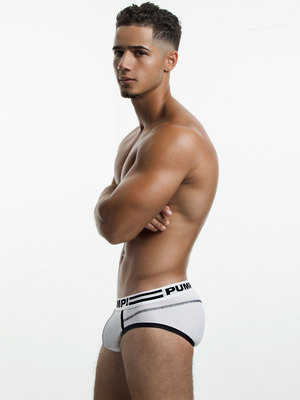 PUMP! Drop Kick Brief White