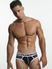PUMP! Lux Brief Black