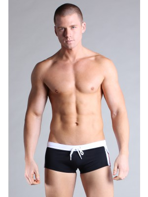 Timoteo Cargo Swim Black