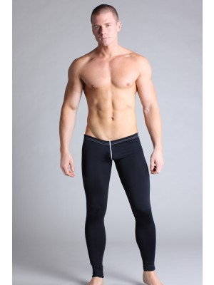 Timoteo Workout Legging Pant Black