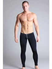Timoteo Workout Legging Pant Bla