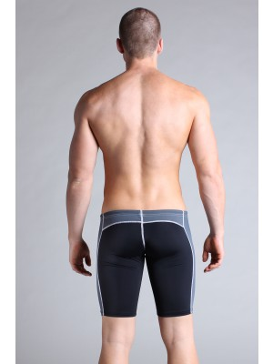 Timoteo Workout Legging Short Black