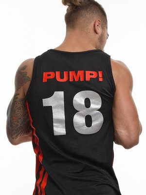 Pump! Falcon Tank 18 Red/Black