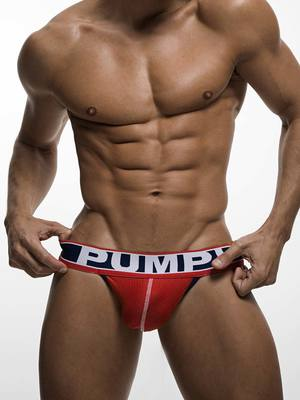 Pump! Fever Jock Red