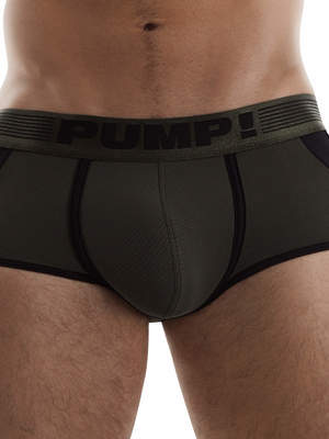PUMP! Access Trunk Military Green