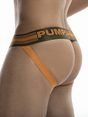 PUMP! Squad Jock Military Green