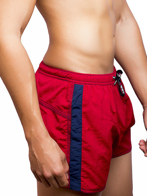 BWET Swim Shorts Gordon Red