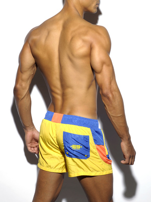 ES COLLECTION FRED ROUND SIDES SHORT Yellow