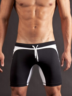Barcode Biker Short Berlin Black/White