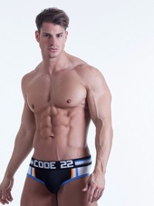 CODE 22 PUSH-UP Bottomless Brief
