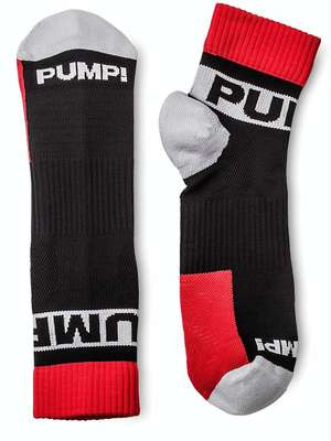 Pump! All-Sport Falcon Socks Black/Red/White