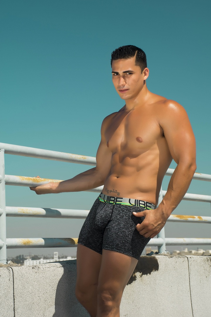Andrew Christian Vibe Sports Amp Workout Tagless Boxer