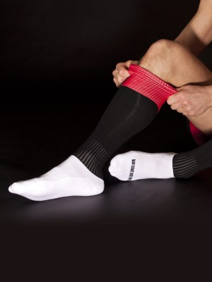 Barcode Berlin Mitte Socks Black/Red/White
