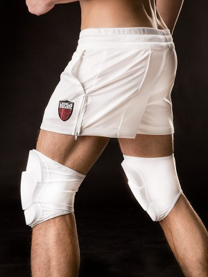 Bacode Knee Pad White