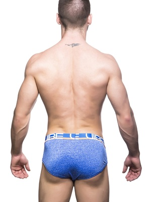 Andrew Christian Vibe Sports & Workout Tagless Brief Melange Blue