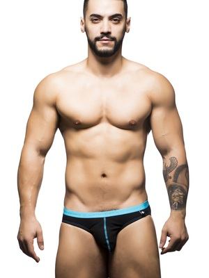 Andrew Christian Boy Brief Black-Blue
