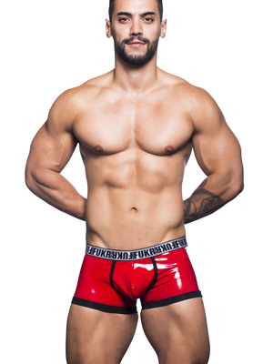 Andrew Christian FUKR Slit Boxer Red