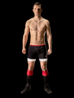 Barcode Retro Sport Short Marcos Black