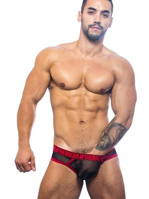 Andrew Christian FUKR Gigolo Mesh Brief Black
