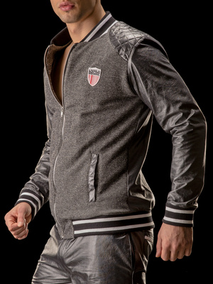 Barcode Jacket Jupiter Star, grey-black