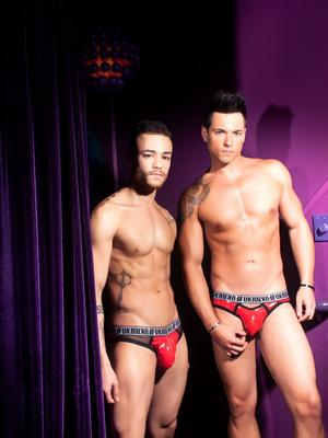 Andrew Christian FUKR Gloss Eclipse Brief Red