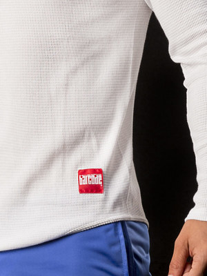 Barcode Thermo V-Neck Mark White
