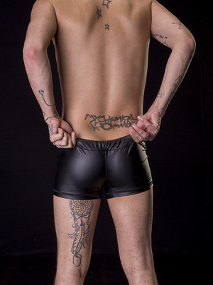 Barcode Berlin Short Brady Black