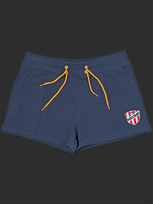 Barcode Berlin Short Federico Navy/Yellow