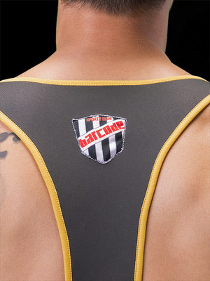 Barcode Berline Harness Gael Black/Yellow