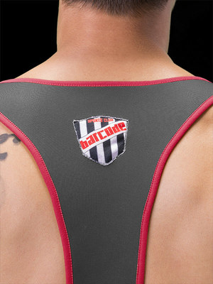 Barcode Berline Harness Gael Red/Black/Red