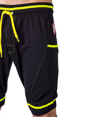 Barcode Short Manfredo Black-Neon Green